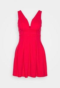 WAL G PETITE - Jersey dress - coral - 0