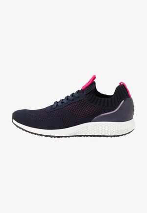 Trainers - navy/magenta