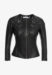 Versace Collection - Giacca di pelle - nero - 4