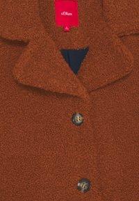 s.Oliver - Klasický kabát - dark orang - 2