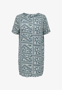 ONLY Carmakoma - CURVY PRINT - Day dress - blue mirage - 0