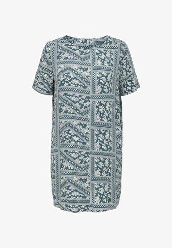 CURVY PRINT - Day dress - blue mirage