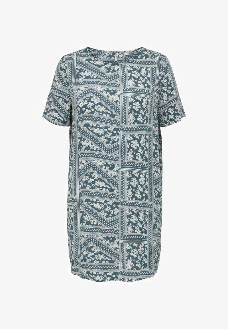 ONLY Carmakoma - CURVY PRINT - Day dress - blue mirage