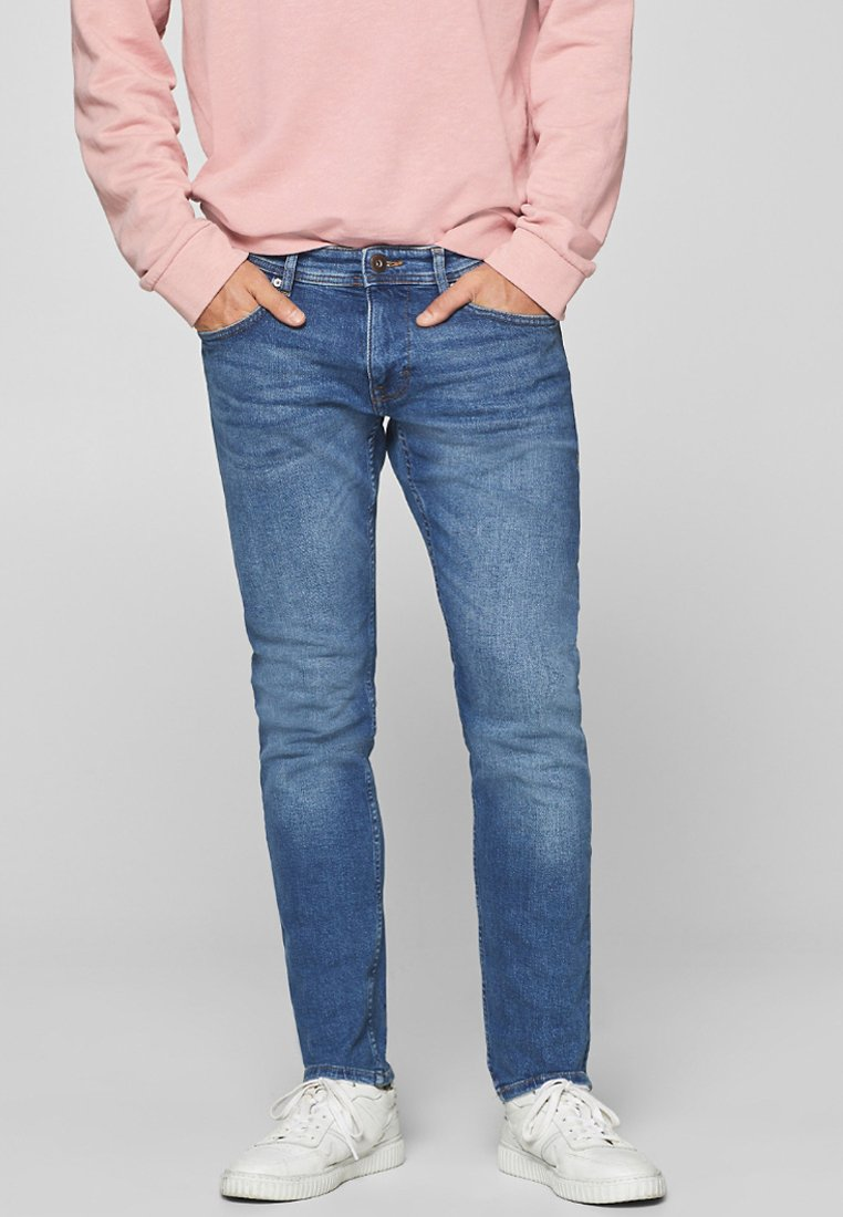 edc by Esprit - Slim fit jeans - blue medium