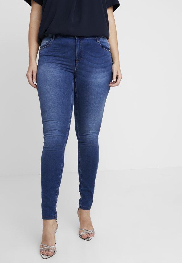 VMSEVEN SHAPE UP - Slim fit jeans - medium blue denim