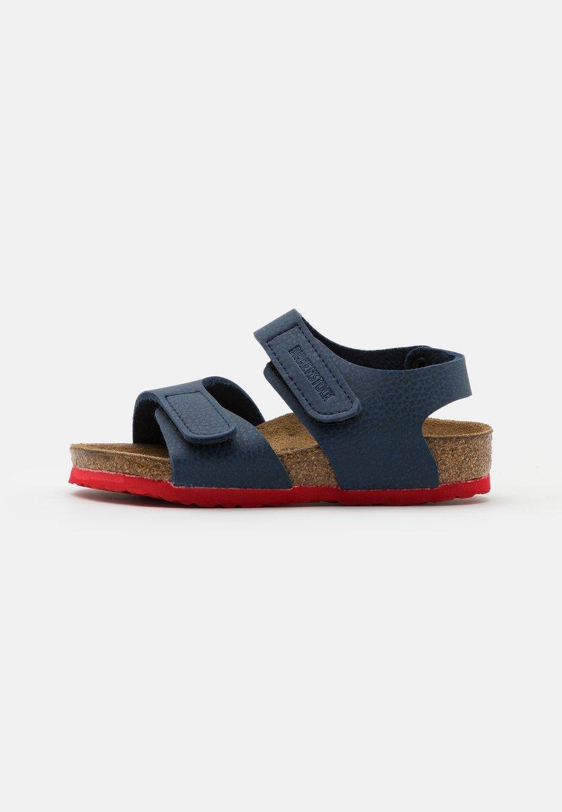 Birkenstock - PALU LOGO  - Sandals - desert soil blue/red