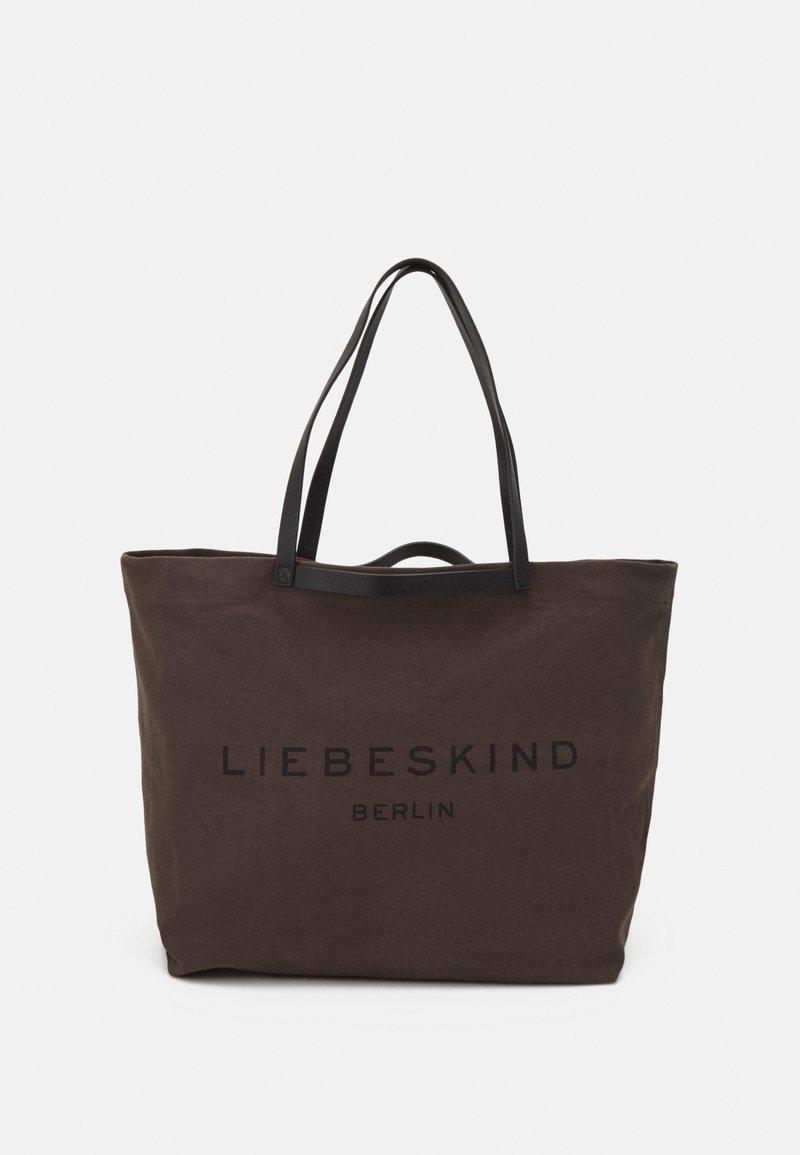Liebeskind Berlin - SHOPPER LARGE - Tote bag - nori green
