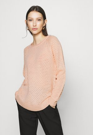 VMESME SURF O NECK - Neule - sepia rose