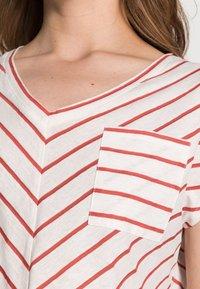 comma casual identity - KURZARM - T-shirt print - white doub - 4