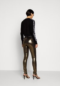 Just Cavalli - Leggings - Trousers - gold - 2