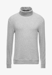 TAB ROLL - Stickad tröja - grey marl
