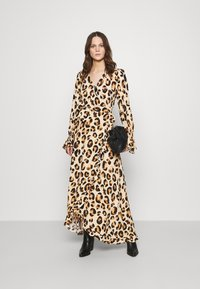 Fabienne Chapot - TASH DRESS - Maxi dress - beige/black/brown - 1