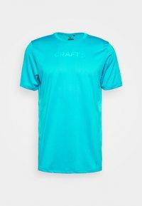 Craft - CORE ESSENCE TEE  - Print T-shirt - blue - 4
