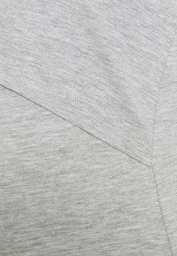 Anna Field MAMA - NURSING - 2 PACK - Jersey dress - Jersey dress - black/light grey - 4