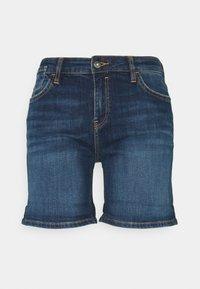 edc by Esprit - Szorty jeansowe - blue dark wash - 0
