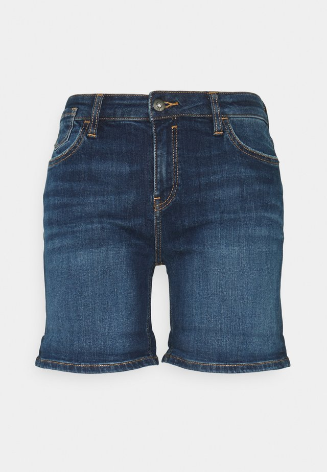 Shorts di jeans - blue dark wash