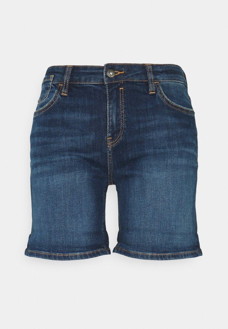 edc by Esprit - Szorty jeansowe - blue dark wash
