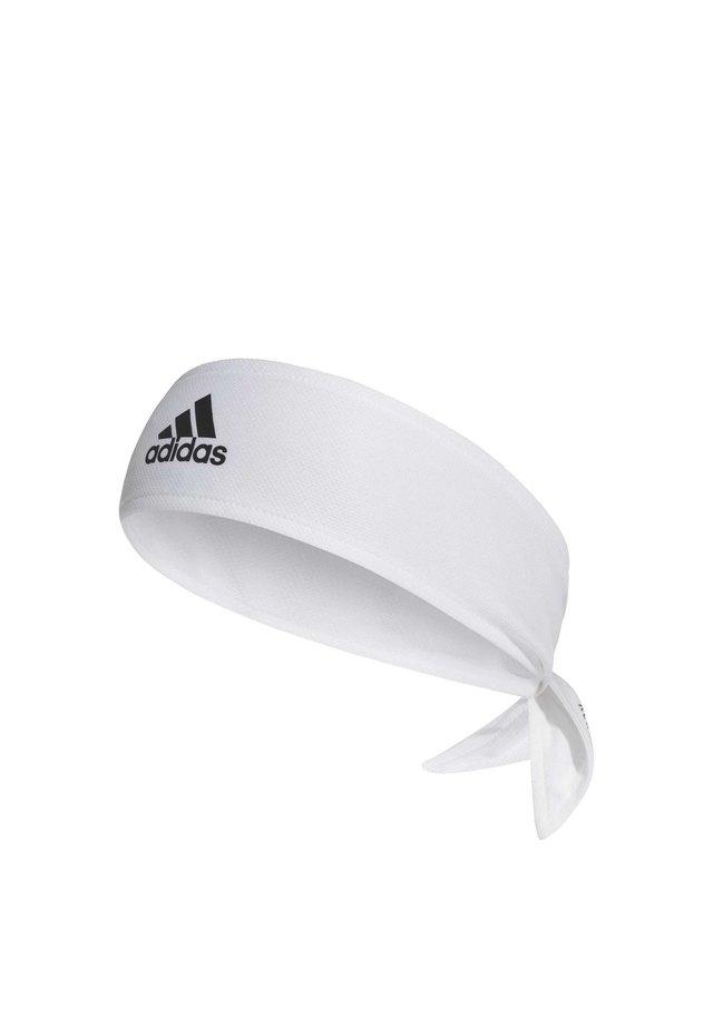 TENNIS TIEBAND 2-COLOURED AEROREADY - huvudkläde - white