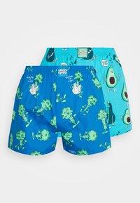 Lousy Livin Underwear - AVOCADO BROCCOLI 2 PACK - Trenýrky - healthy blue - 4