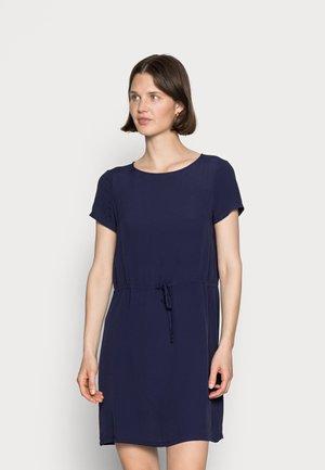 WOVEN DRESS BASIC TUNNEL - Day dress - dark blue