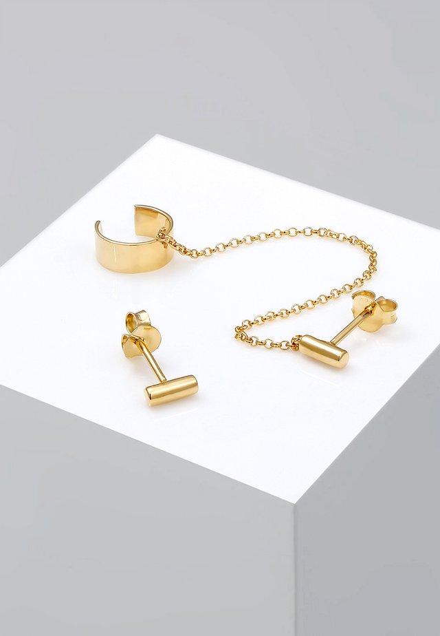 EARCUFF  - Oorbellen - gold-coloured
