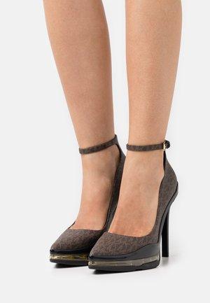 KEKE EXTREME - High heels - brown/black