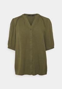 VMJANE SHIRT - Blouse - ivy green