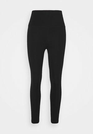 ALL DAY 7/8 HIGH WAIST LEGGINGS - Leggings - black