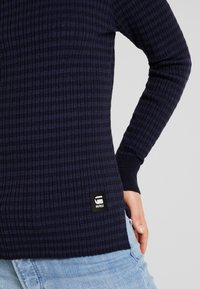 G-Star - MOCK TURTLE - Jumper - saru blue - 5
