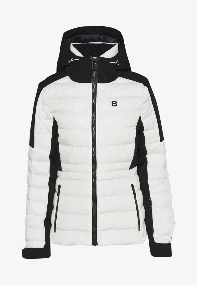 ANOESJKA JACKET - Lyžařská bunda - blanc