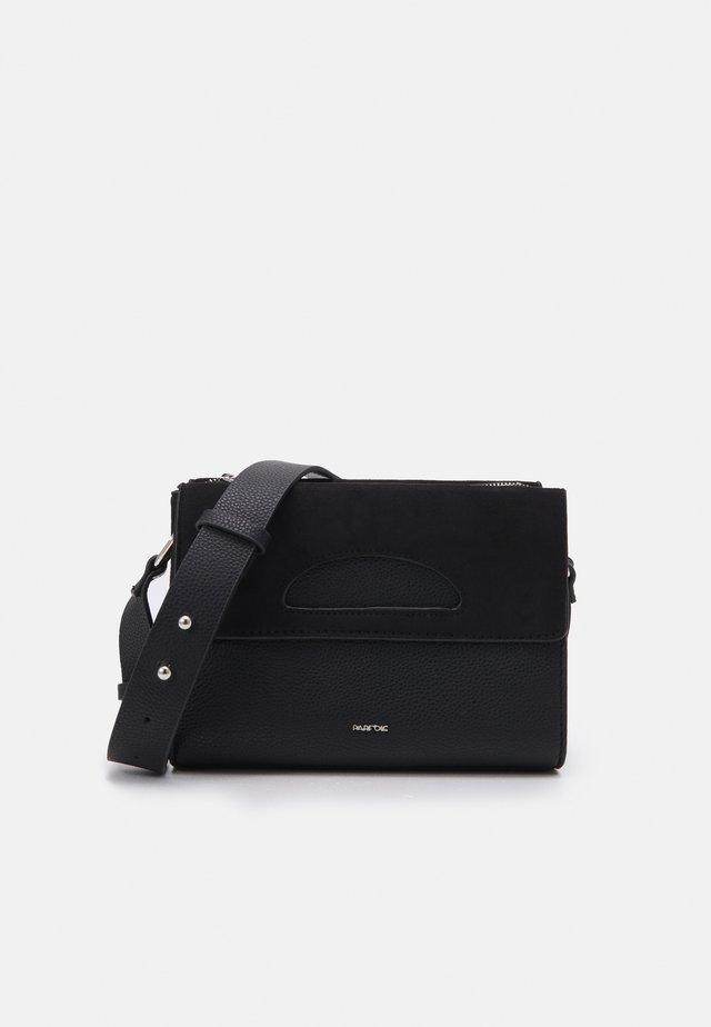 CROSSBODY BAG ZINNIA - Across body bag - black