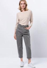 zero - Long sleeved top - cream melange - 1