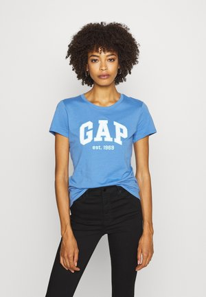 OUTLINE TEE - T-shirt con stampa - cabana blue