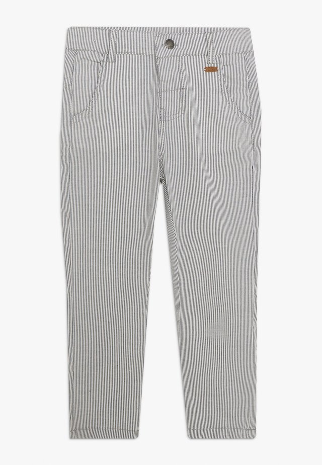 THOMAS TROUSERS - Tygbyxor - blue moon