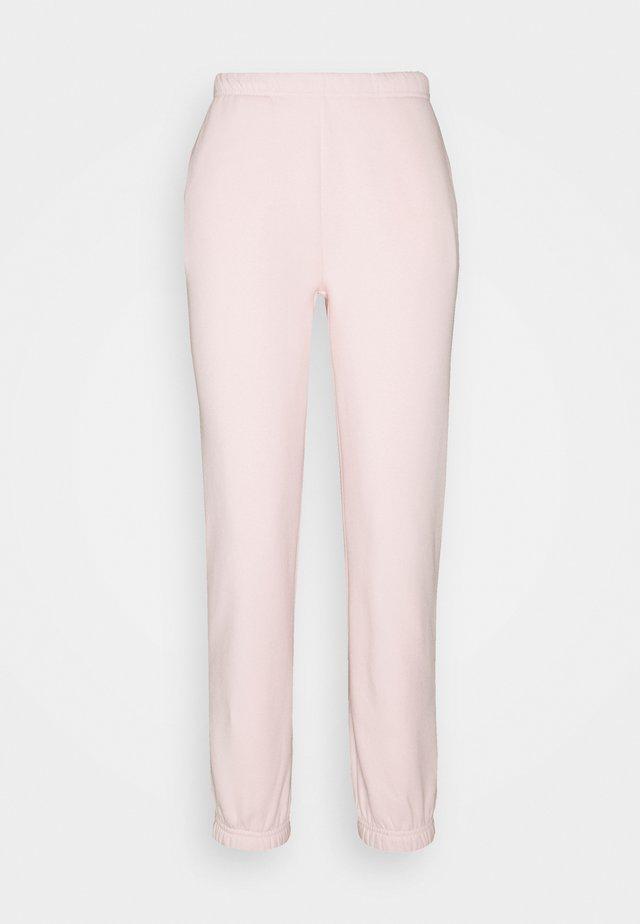 BASIC - Tracksuit bottoms - barley pink