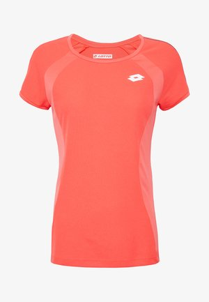TENNIS TEAMS TEE - Print T-shirt - red fluo
