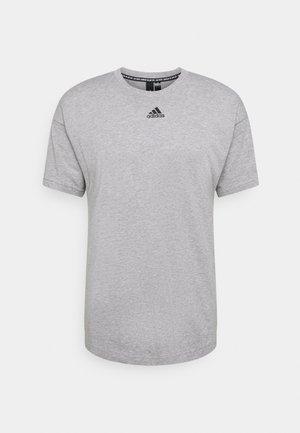 TEE - Print T-shirt - medium grey heather