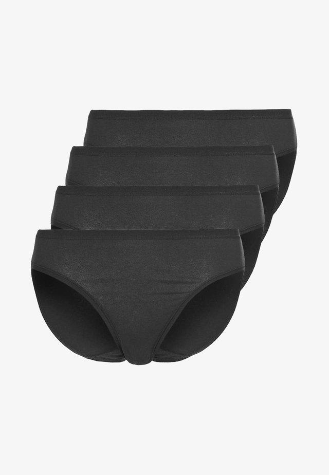 4 PACK - Slip - black