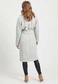 Object - Zimní kabát - light grey melange - 2