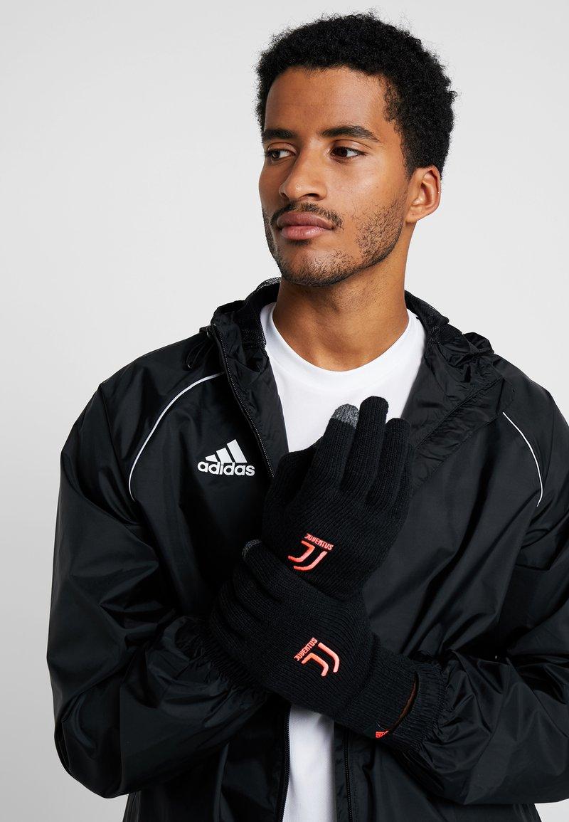 adidas Performance - JUVENTUS TURIN GLOVES - Gloves - black