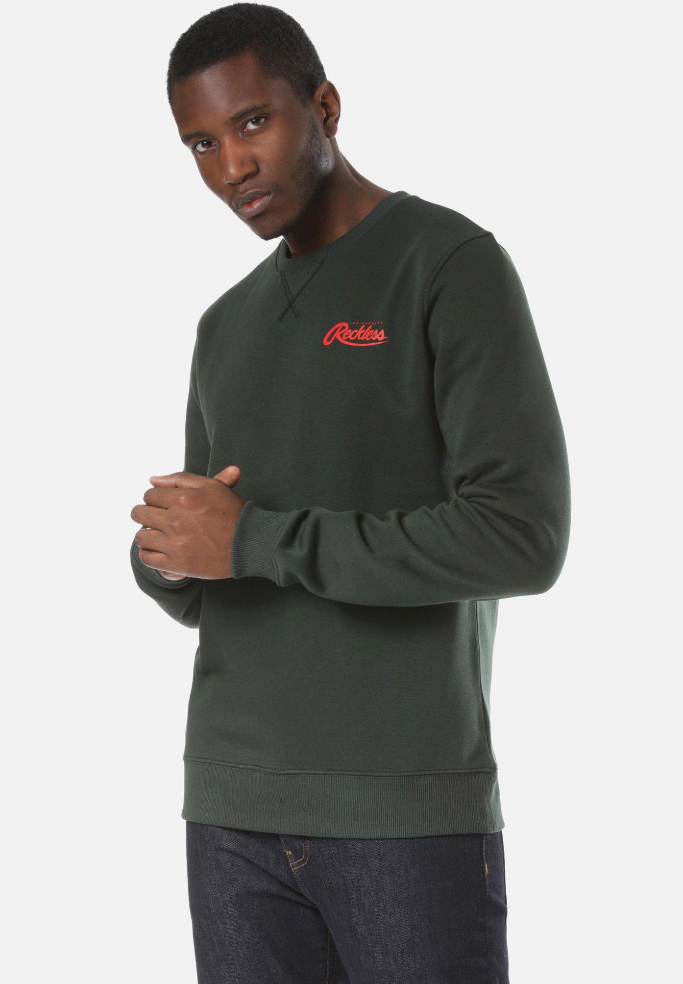Young and Reckless Sweater - green  Heren Truien & vesten TqlOP