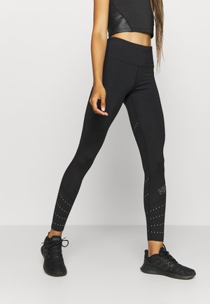RUN BABY RUN LEGGING - Tights - black