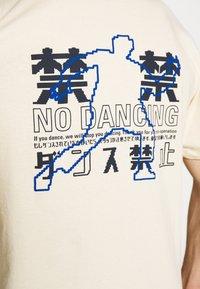 Edwin - NO DANCING  - T-shirt con stampa - vanilla - 5