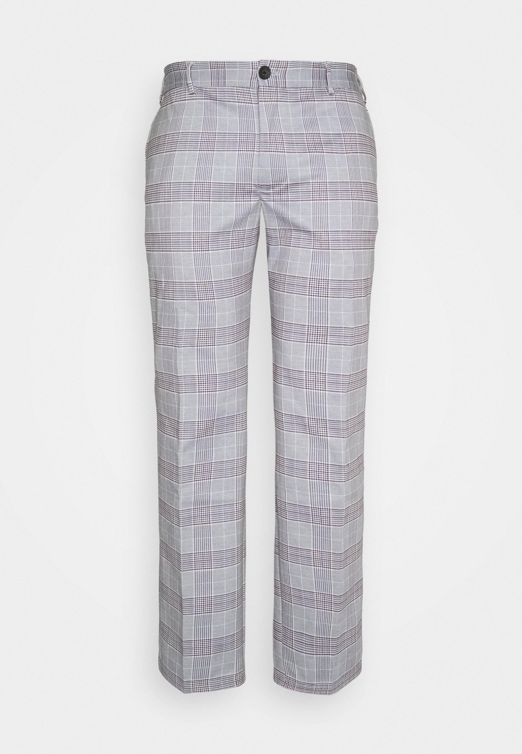 Men JJIMARCO JJPHIL CHECK - Trousers