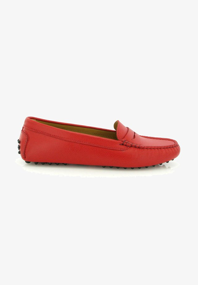 MICHÈLE DRIVERS - Mocassins - red
