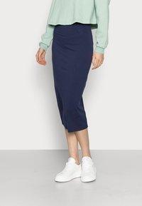 Even&Odd Tall - 2 PACK - Pencil skirt - dark blue/black - 4