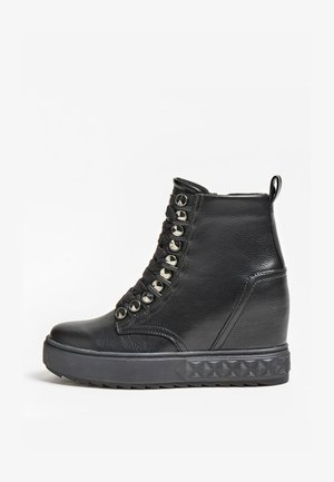 Wedge Ankle Boots - noir