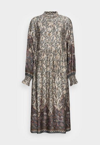MARLENE DRESS - Vestito lungo - gunmetal