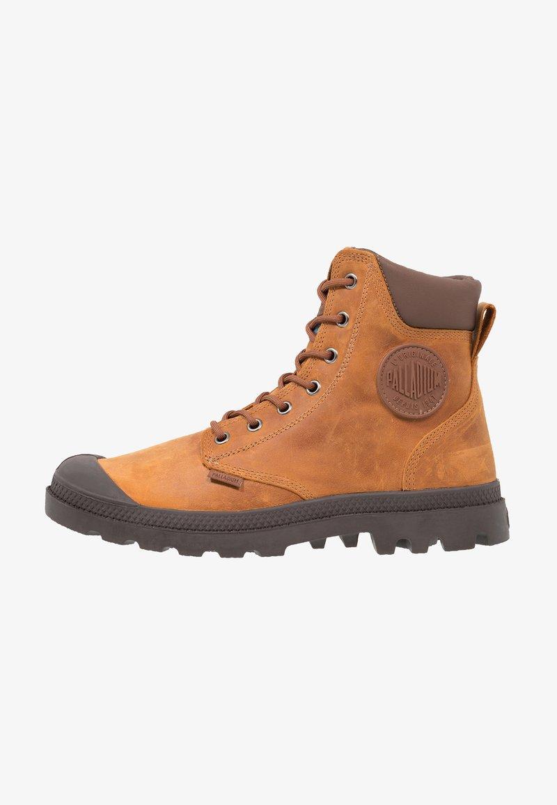 Palladium - PAMPA SPORT CUFF WATERPROOF LUX - Lace-up ankle boots - sunrise/carafe