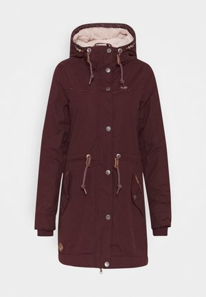 CANNY - Winter coat - wine red